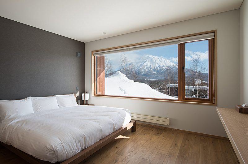 Kazahana Bedroom with Mt Yotei Views | Hirafu, Niseko