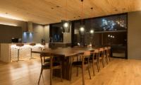Kazahana Kitchen Area | Hirafu, Niseko