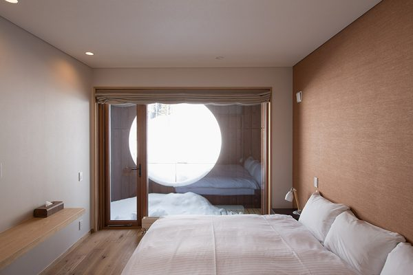 Kazahana Bedroom View | Hirafu, Niseko