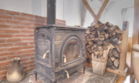 Kisetsu Fireplace Mantel | Hirafu Izumikyo 1, Niseko