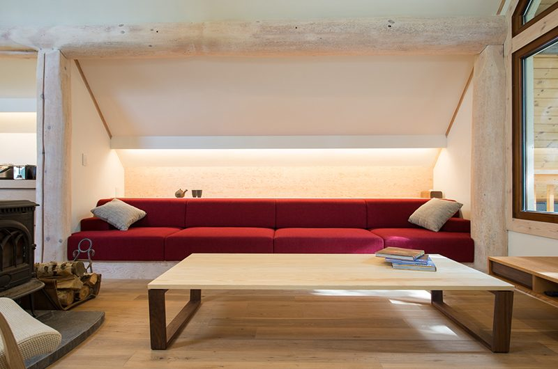 Koho Living Room with Seating | Hirafu, Niseko