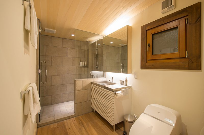 Koho Bathroom with Shower | Hirafu, Niseko