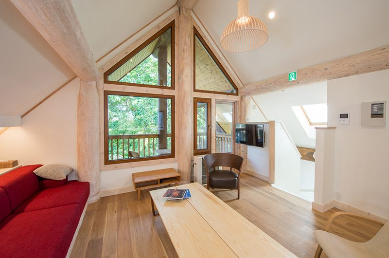 Koho Living Area with TV | Hirafu, Niseko