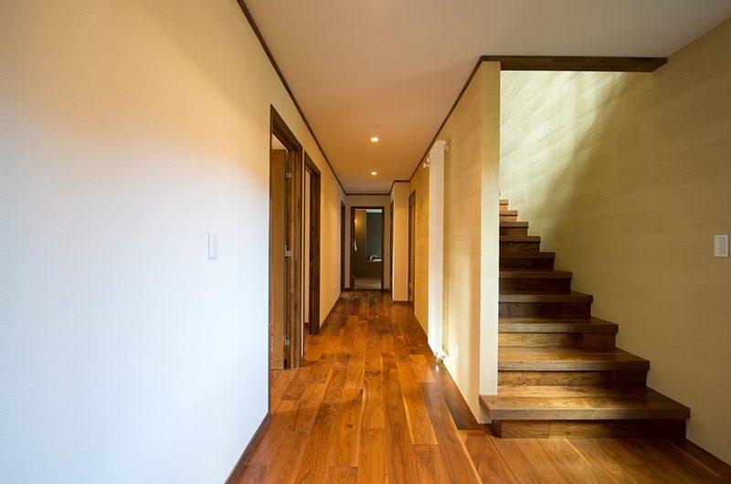 Moiwa Chalet Stairway   Moiwa, Niseko