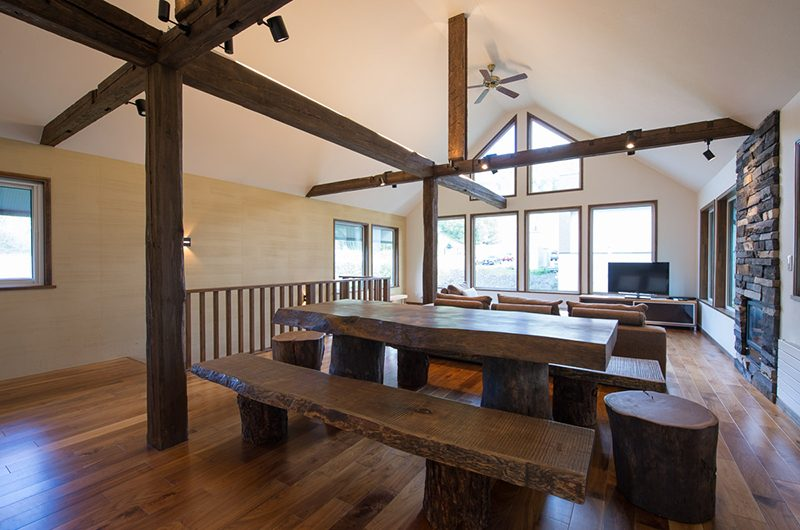 Moiwa Chalet Dining and Living Area | Moiwa, Niseko