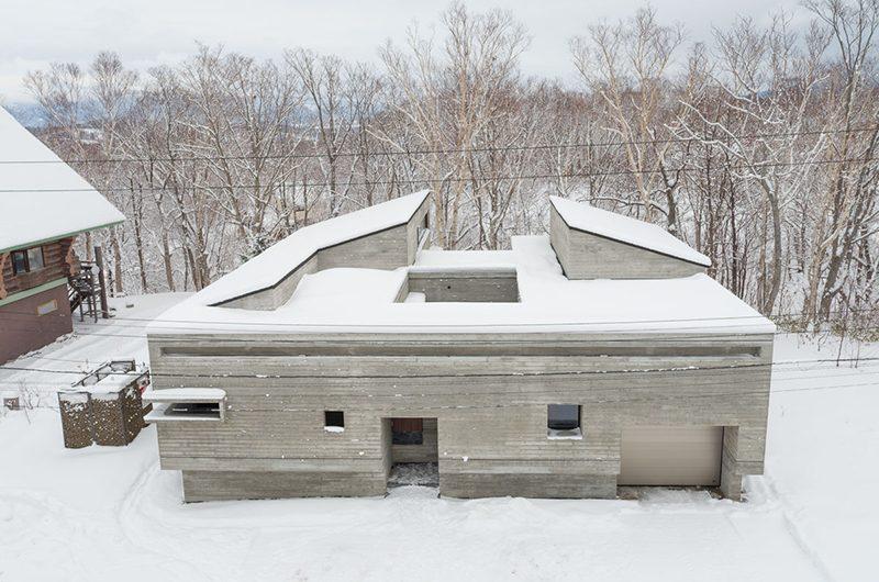 Setsu-in Building in Snow | Hanazono, Niseko