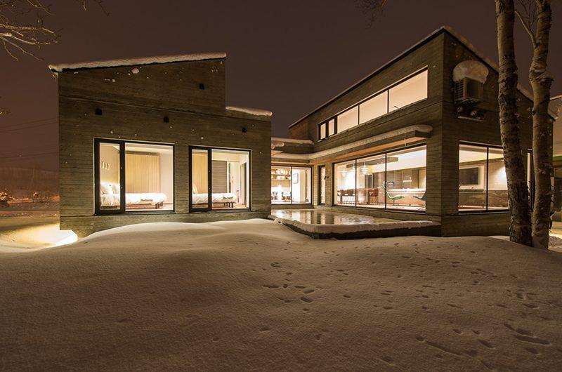 Setsu-in Night View | Hanazono, Niseko