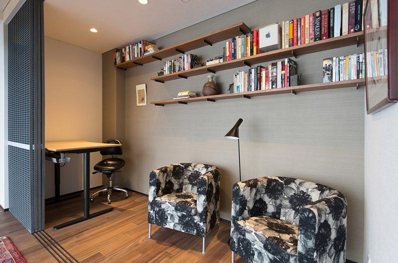Setsu-in Study Area with Table | Hanazono, Niseko
