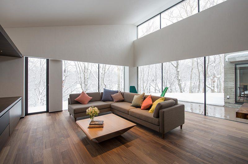 Setsu-in Living Room View | Hanazono, NIseko
