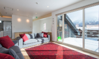 Yuzuki Living Room with View | Hirafu, Niseko