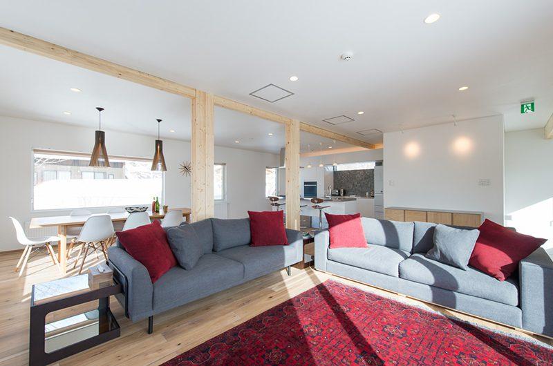 Yuzuki Living Room | Hirafu, Niseko