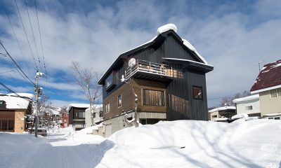 Yuzuki Outside View | Hirafu, Niseko