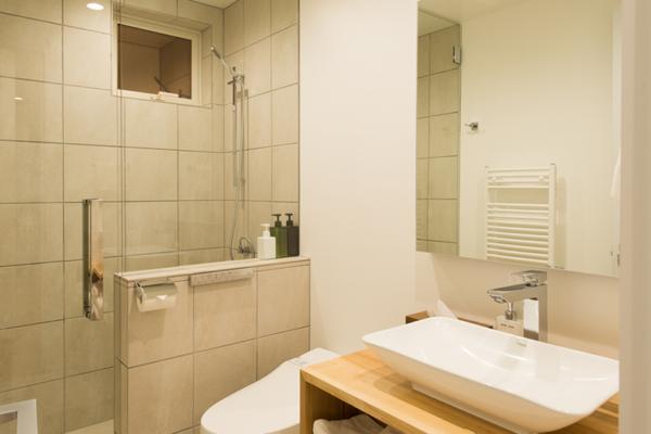 Yuzuki Bathroom with Shower | Hirafu, Niseko