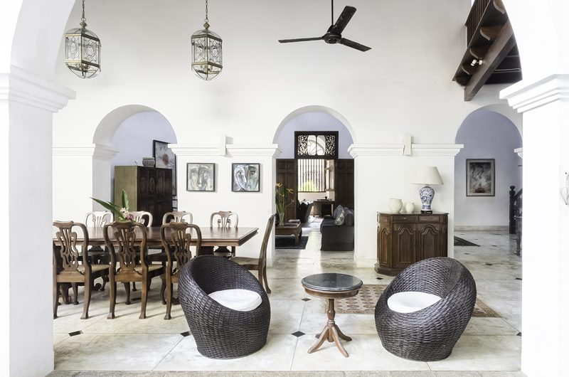 48 Lighthouse Street Living and Dining Area | Galle, Sri Lanka