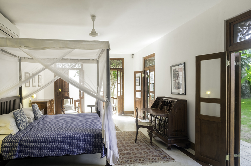 48 Lighthouse Street Bedroom with Study Table | Galle, Sri Lanka
