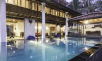 Royal Indigo Villa Living Area with Pool View | Talpe, Sri Lanka