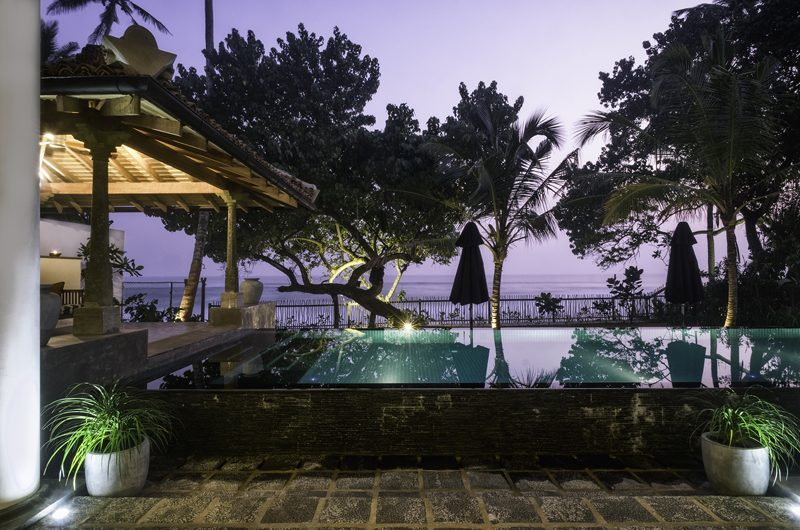 Royal Indigo Villa Night View | Talpe, Sri Lanka