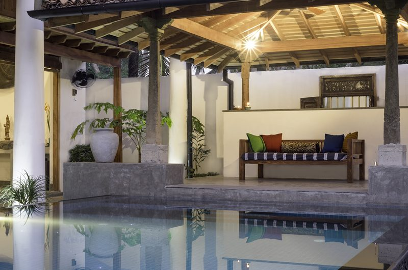 Royal Indigo Villa Pool Side Lounge | Talpe, Sri Lanka