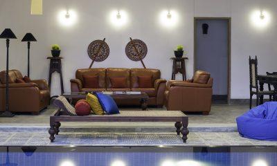 Royal Indigo Villa Living Area | Talpe, Sri Lanka