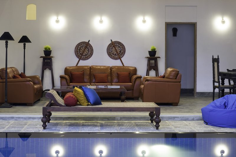 Royal Indigo Villa Living Area | Talpe, Sri Lanka