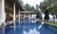 Royal Indigo Villa Pool Side Seating Area | Talpe, Sri Lanka
