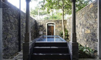 Royal Indigo Villa Pool | Talpe, Sri Lanka