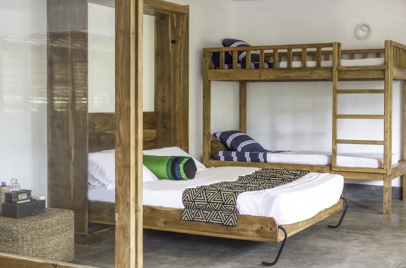 Royal Indigo Villa Bunk Beds | Talpe, Sri Lanka