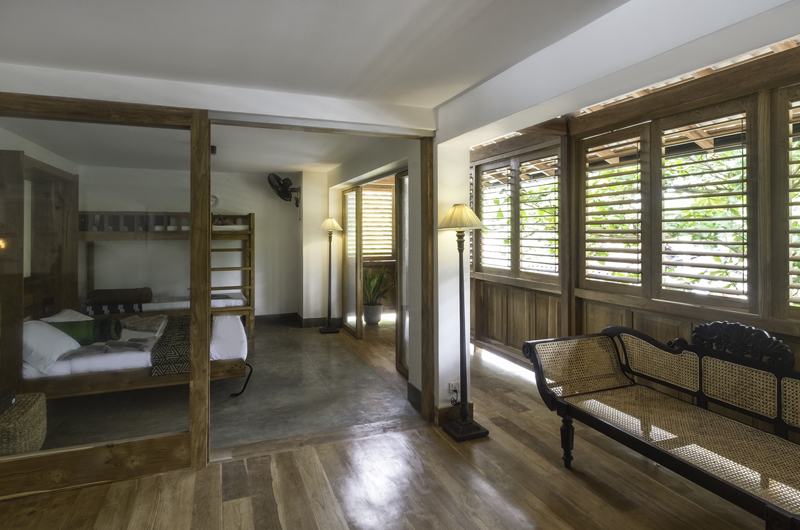 Royal Indigo Villa Bedroom with Seating Area | Talpe, Sri Lanka