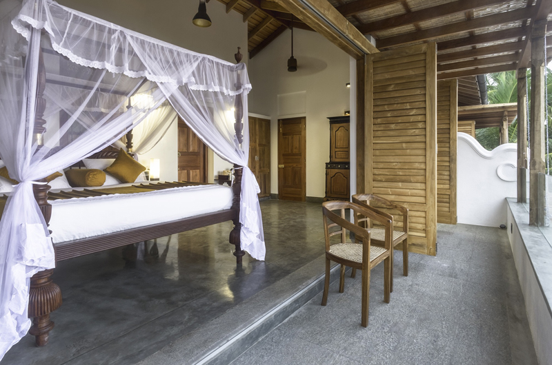 Royal Indigo Villa Spacious Bedroom | Talpe, Sri Lanka