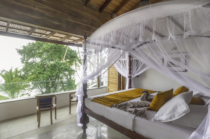 Royal Indigo Villa Bedroom View | Talpe, Sri Lanka