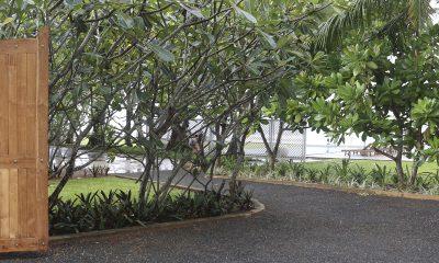 Tanamera Estate Entrance Pathway   Talpe, Sri Lanka