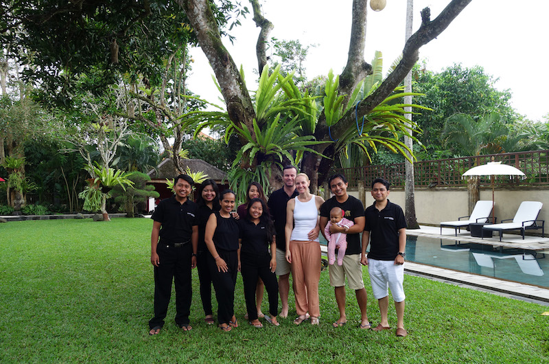 Bali Ubud Villa San Team