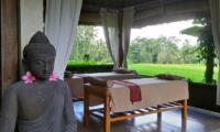 Villa Bamboo Massage Beds | Ubud, Bali