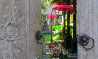Villa Bamboo Entrance | Ubud, Bali