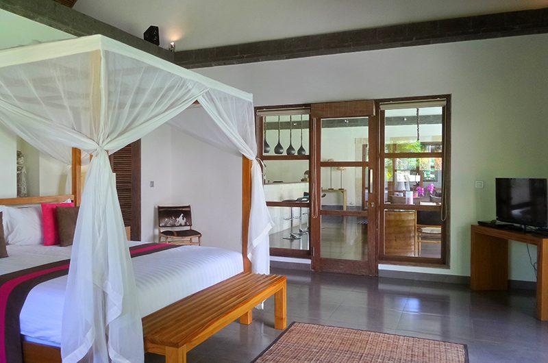 Villa Bamboo Bedroom with TV | Ubud, Bali