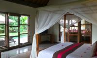 Villa Bamboo Bedroom Area | Ubud, Bali