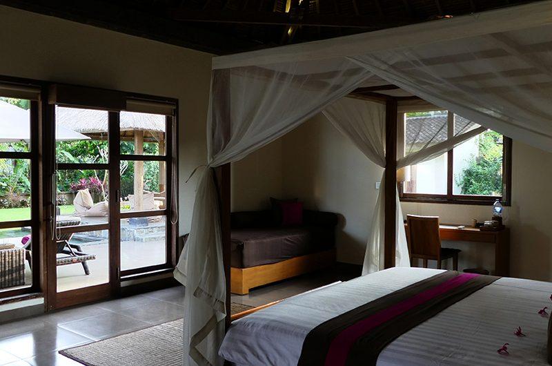 Villa Bamboo Bedroom with Pool View | Ubud, Bali