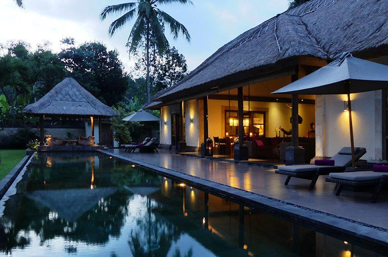 Villa Bamboo Night View | Ubud, Bali