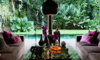 Villa Bamboo Open Plan Living Area | Ubud, Bali