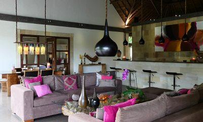 Villa Bamboo Living Area | Ubud, Bali