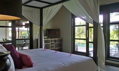Villa Condense Bedroom with Pool View | Ubud, Bali