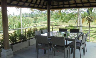 Villa Condense Dining Table with View | Ubud, Bali