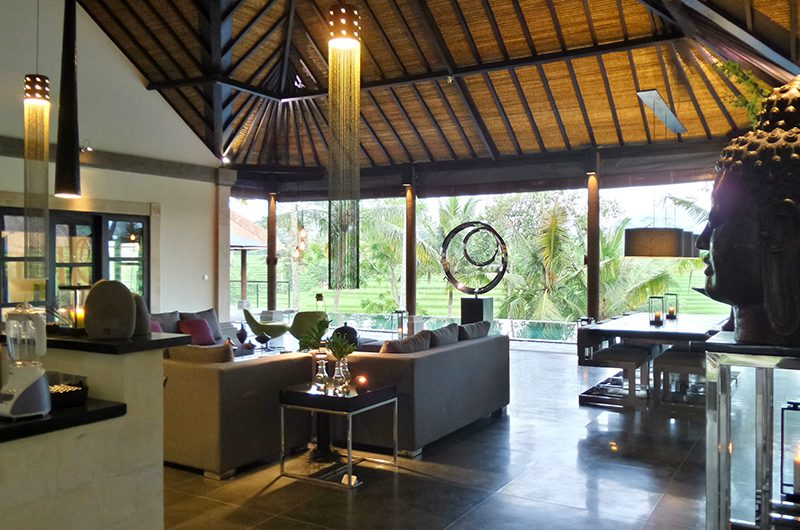Villa Condense Open Plan Living Area | Ubud, Bali