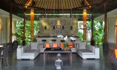 Villa Orchids Living Room   Ubud, Bali