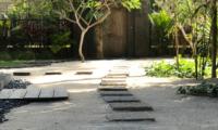 Villa Samudera Entrance | Nusa Lembongan, Bali