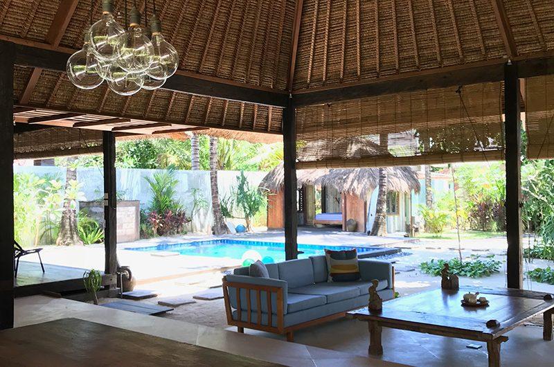 Villa Samudera Open Plan Living Area | Nusa Lembongan, Bali