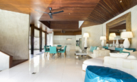 Villa Summer Dining and Living Area   Petitenget, Bali