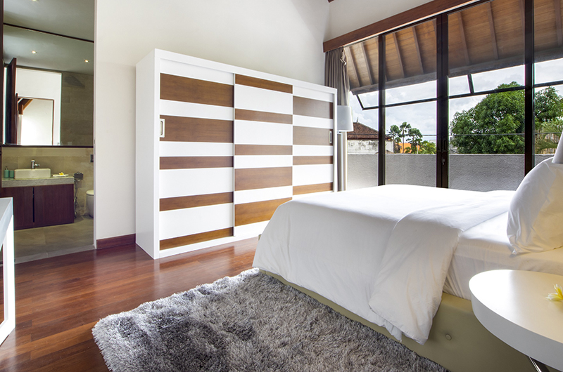 Villa Summer Bedroom Area   Petitenget, Bali