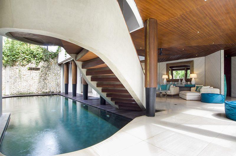 Villa Summer Open Plan Living Area   Petitenget, Bali