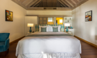 Amaya Kuda Rah Beach Suite Bedroom Area | South Ari Atoll, Maldives